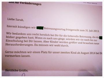 Tagesmutter in Düsseldorf Düsseltal - Empfehlung